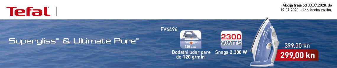 tefal - fv4496 supergliss akcija