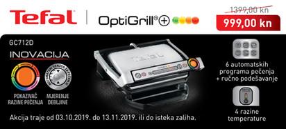 Tefal - GC712D Optigrill akcija