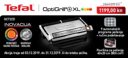 Tefal - Optigrill GC722D prosinac