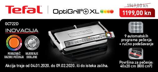 tefal - optigrill gc722d siječanj