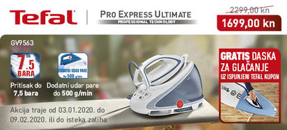 Tefal - Pro Express Ultimate GV9563