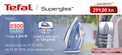 tefal - supergliss fv4496