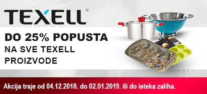 Texell -  akcija zima 2018.