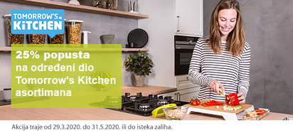 tomorrovs kitchen akcija minus 25 posto
