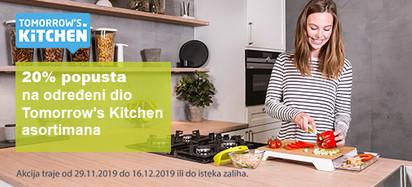tomorrows kitchen akcija prosinac 2019