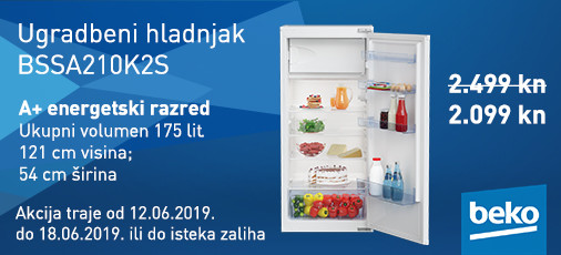 ugradbeni hladnjak bssa210k2s