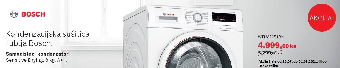 Uz Bosch sušilicu,rublje je suho za tren