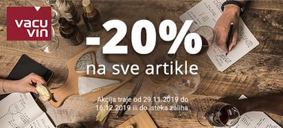 Vacu Vin akcija prosinac 2019