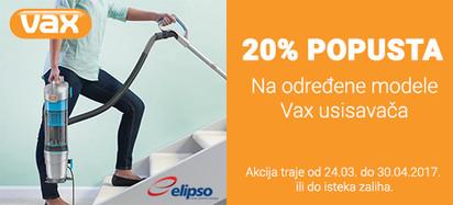 vax 20 posto akcija