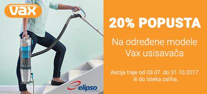 vax 20 posto popusta akcija