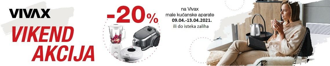 Vivax MKA travanj 2021