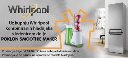 Whirlpool hladnjak+blender